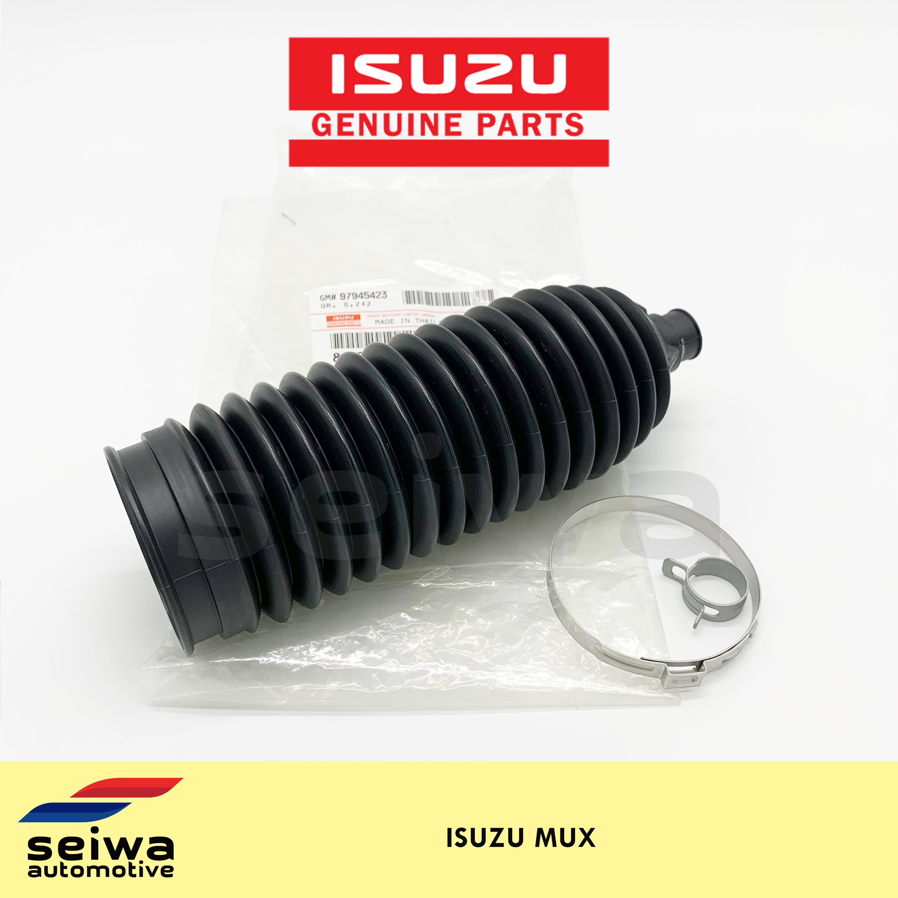 5 Series Rack /& Pinion Bellow//Boot 6 PIECE KIT-IN STOCK-2 Boots 4 Clamps BMW 3