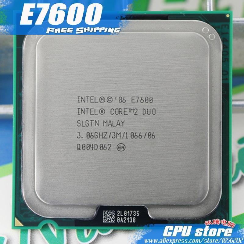 Intel Core 2 Duo E7600 CPU Processor (3.0Ghz/ /1066GHz) Socket 775 XT Store