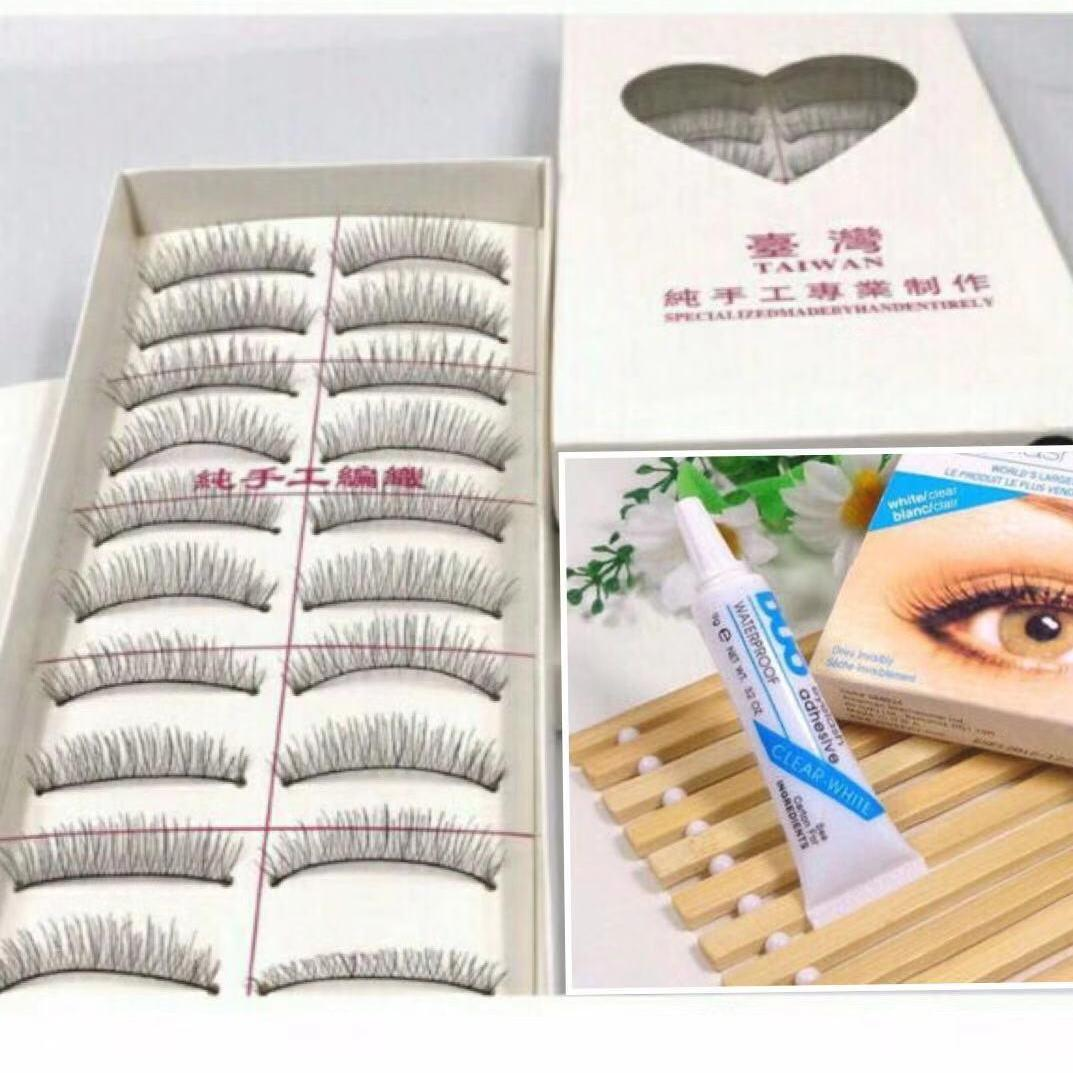 Taiwan False Eyelashes & DUO Eyelash Adhesive Set Philippines