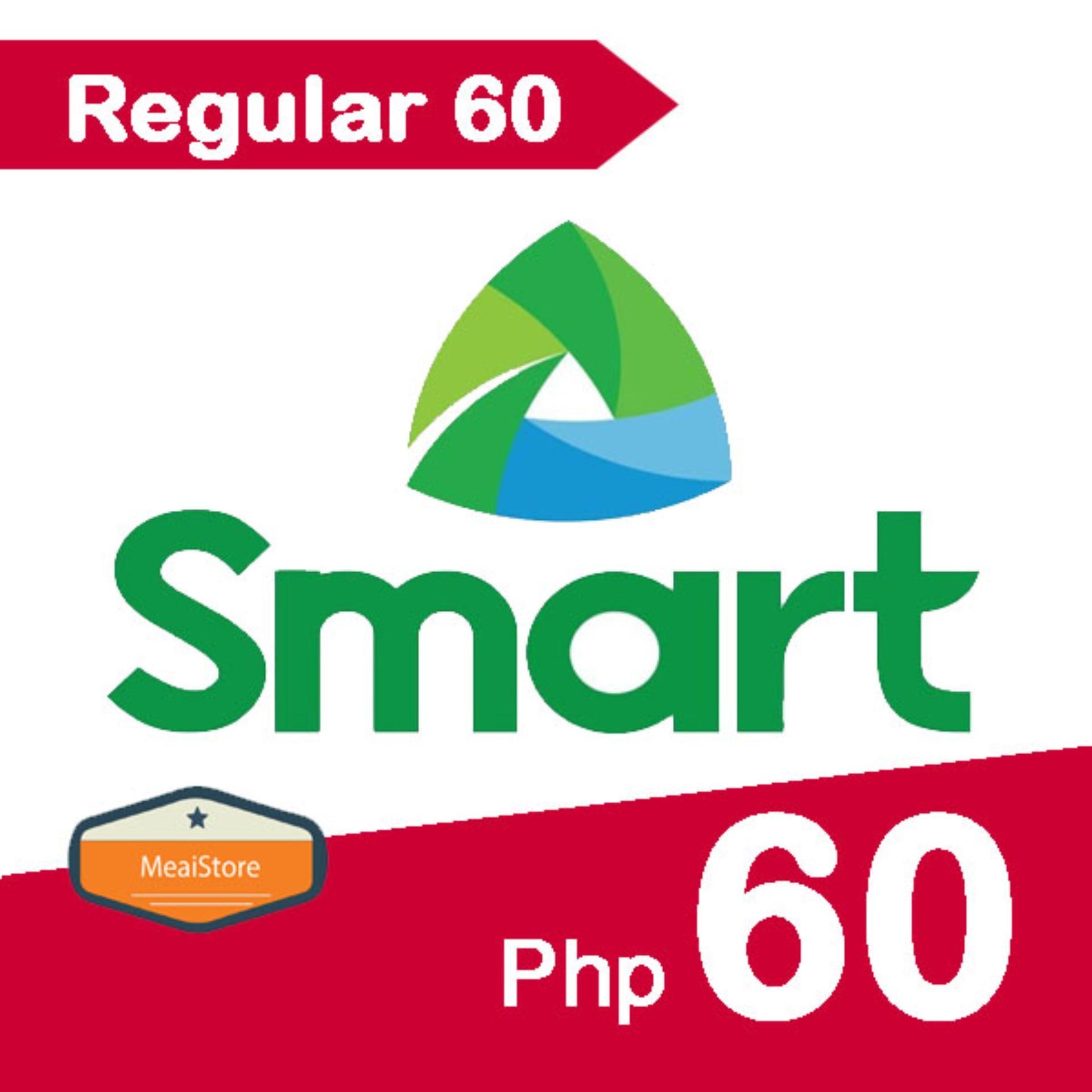 SMART / TNT Regular Mobile Load 60 Pesos