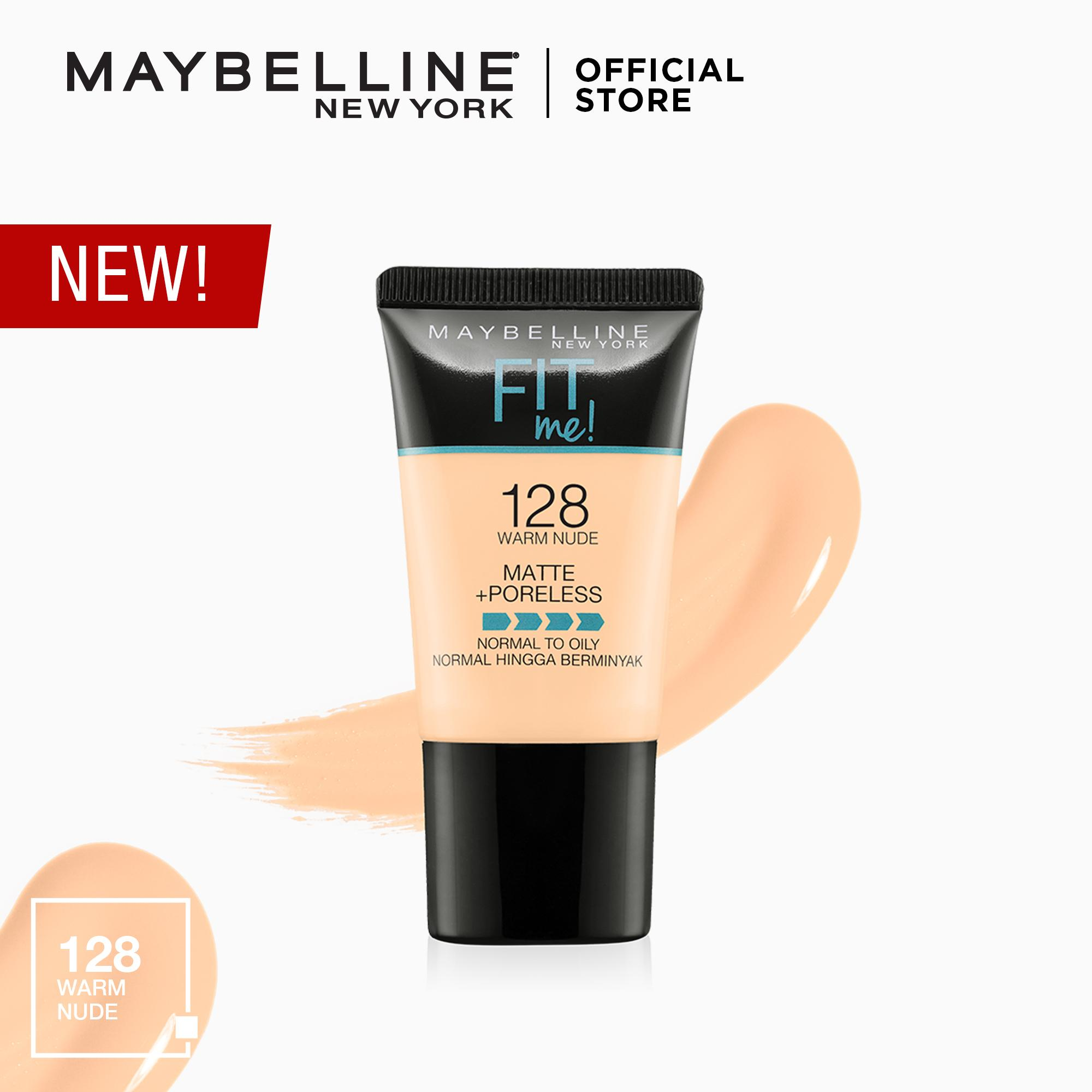 Fit Me Matte+Poreless Liquid Foundation Tube 18mL [USA Bestseller] by Maybelline Philippines