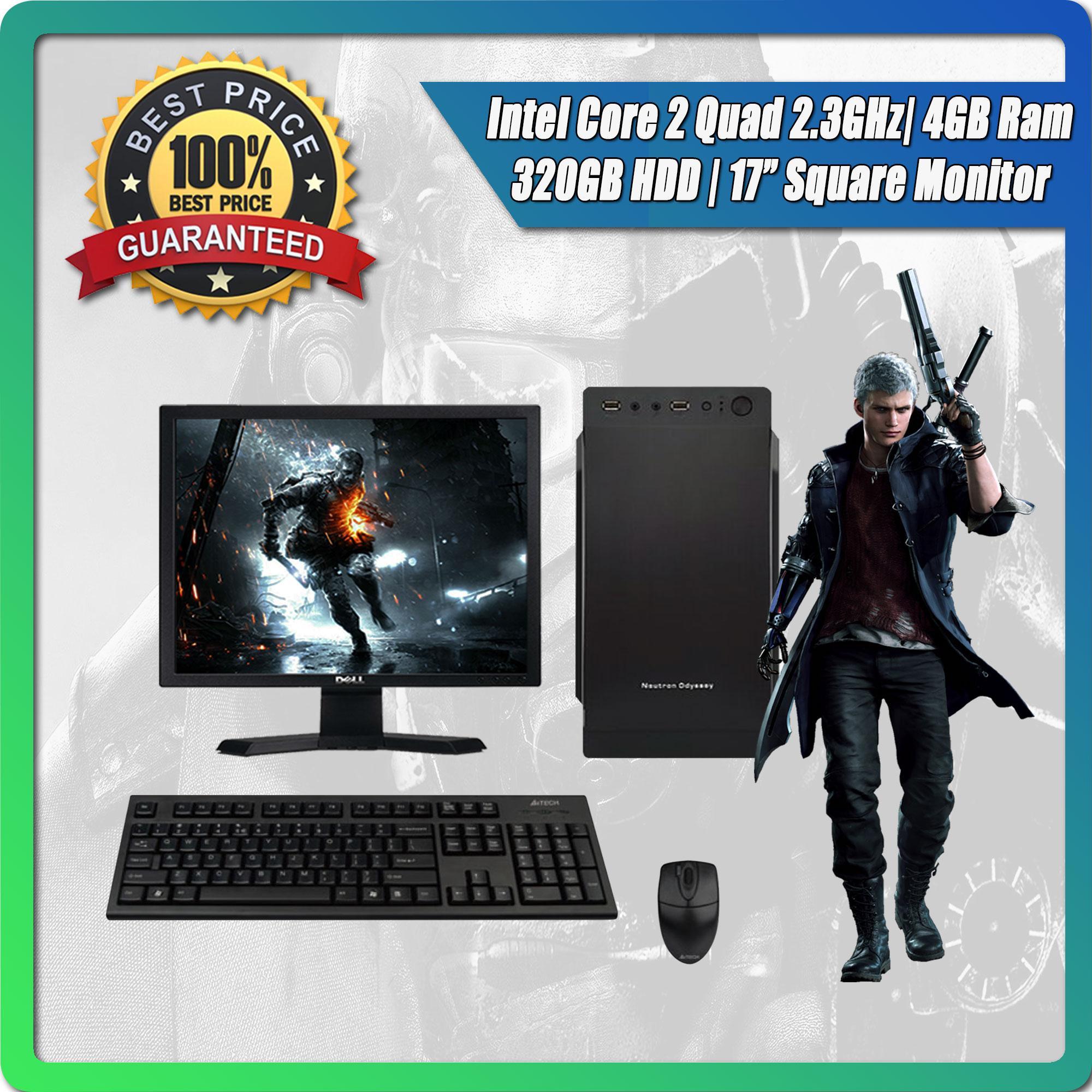 Intel Core 2 Quad Q8200 2 3GHz / 4GB Ram / 320GB HDD / 17