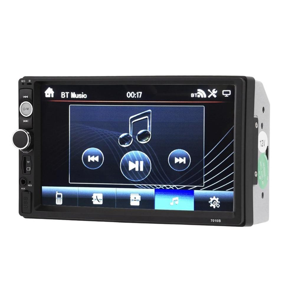 2018 New 7010B 7 Inch Bluetooth V2.0 Car Audio Stereo Touch Screen MP5 Player