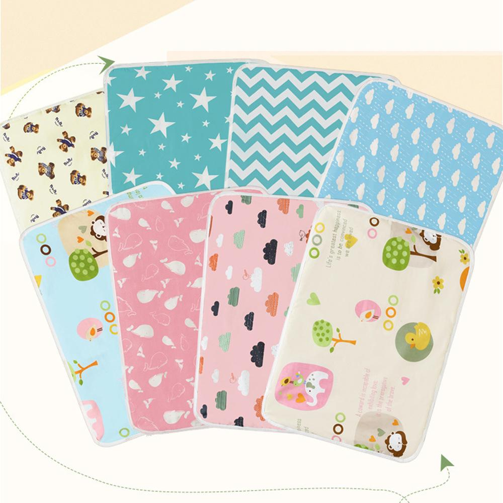 Useful Mat Towel Diaper Changing  Cover Nappy Urine Pad Absorbent Cloth