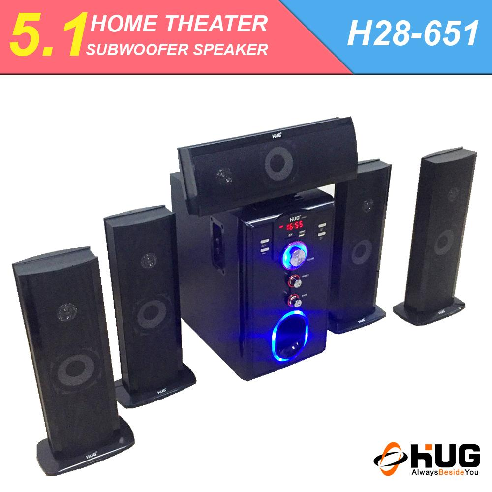 HUG H28-651 Bluetooth Home Theater Subwoofer Speaker