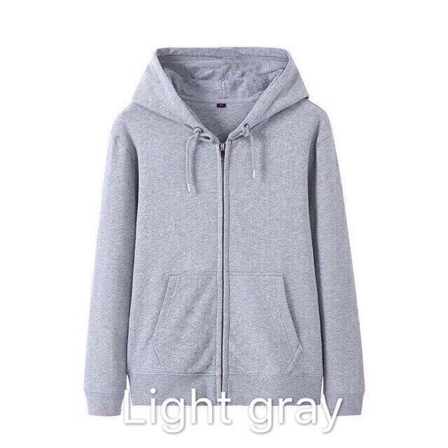 3a0cc8d4 Plain Unisex jacket thick quality #8806
