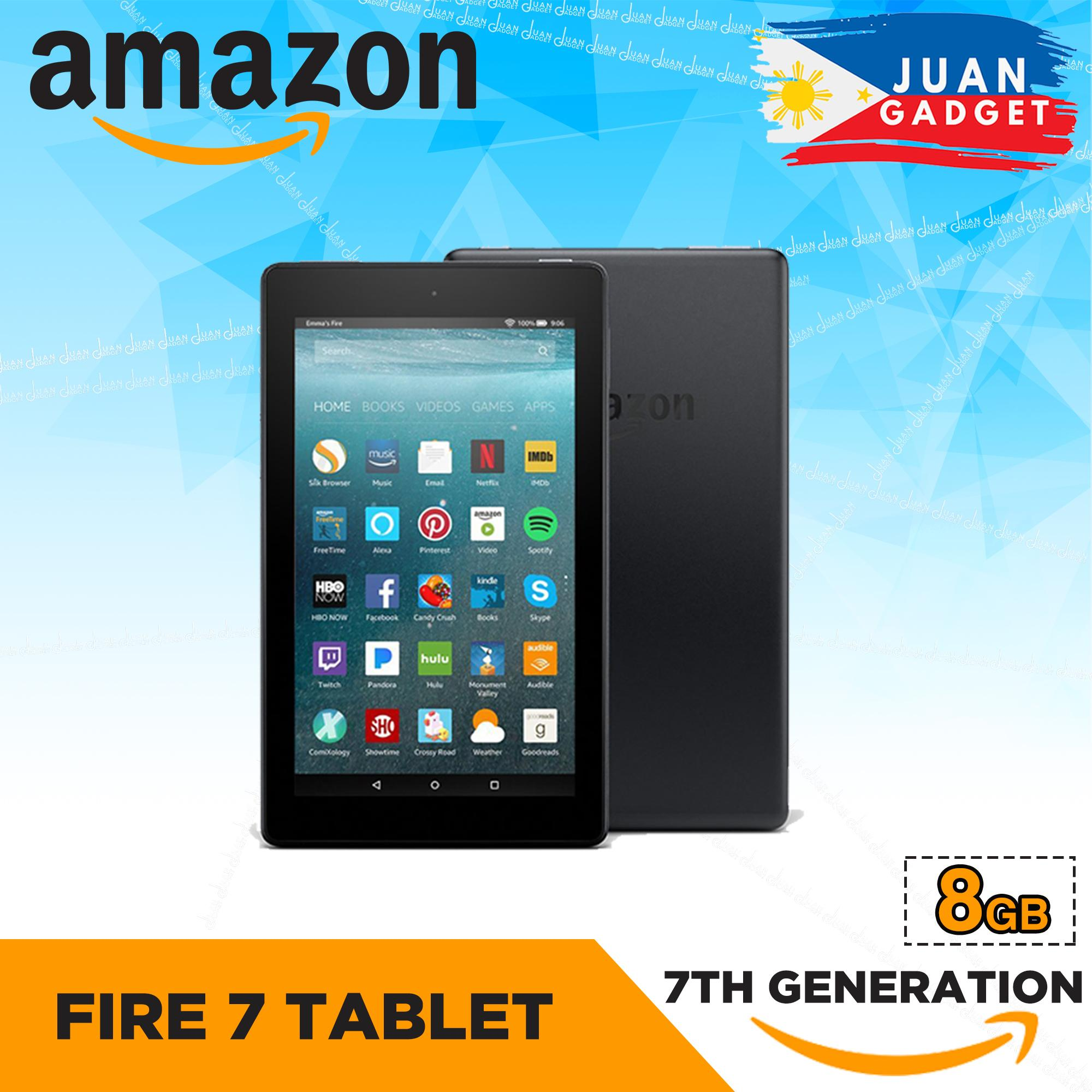 Amazon Fire 7 Tablet With Alexa, 7 Inch Display, 7th Generation By Juan Gadget.
