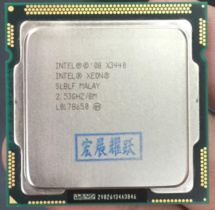 Intel Xeon Processor X3440 Quad-Core (8M Cache, 2.53 GHz)) LGA1156 CPU 100% working properly Desktop Processor YFD Store