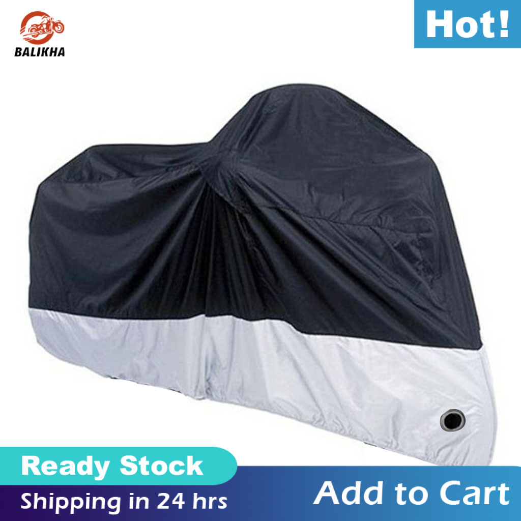 "XXXXL Motorcycle Rain Dust Cover Waterproof Protector Black//Green 116/""x43/""x55/"""