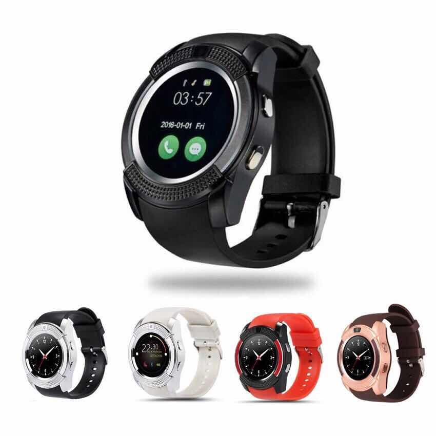 ✅smile V8 Smart Watch Phone Camera With Sim / Tf Card Slot By ✅smile Shop.