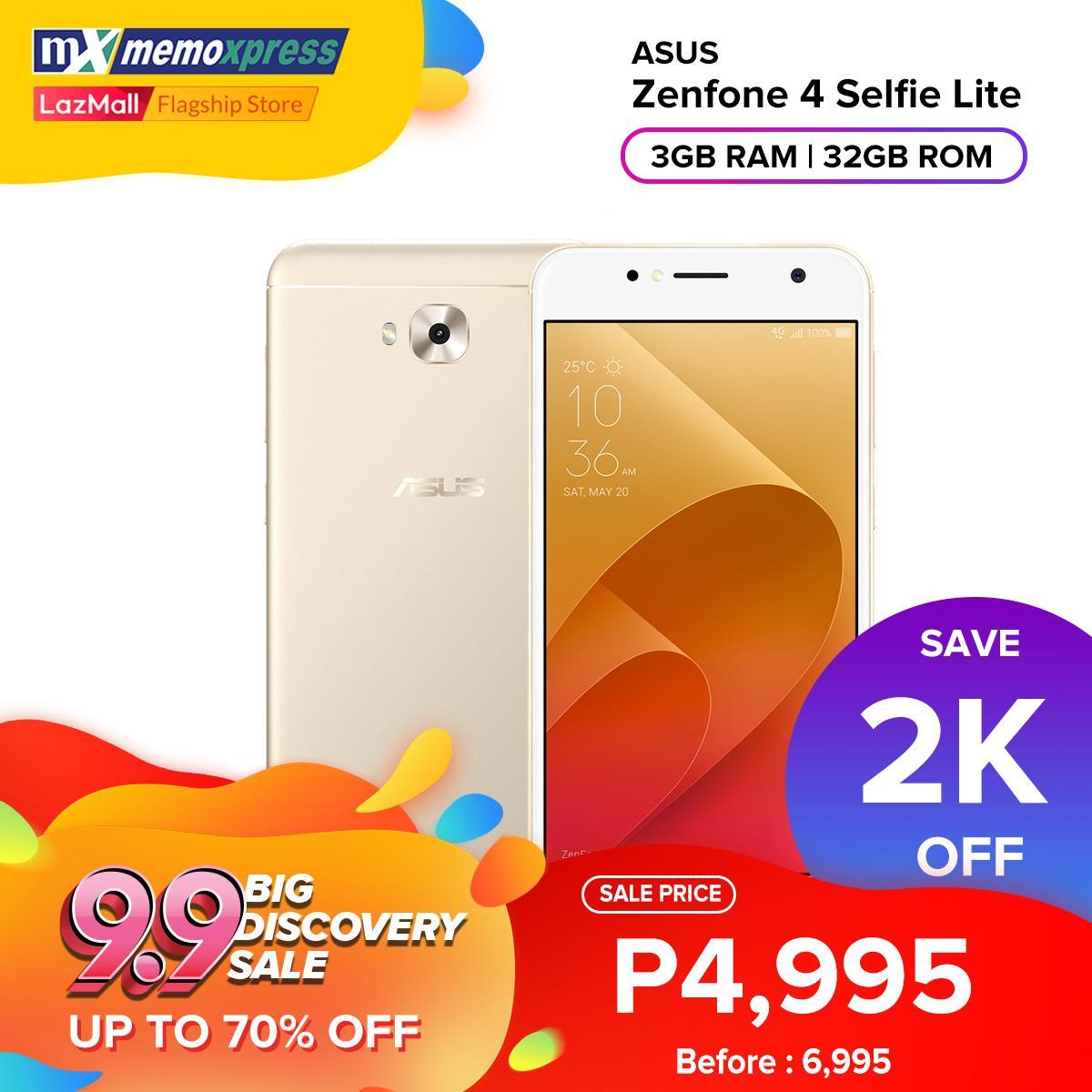 Asus Zenfone 4 Selfie Lite ZB553KL 3GB/32GB
