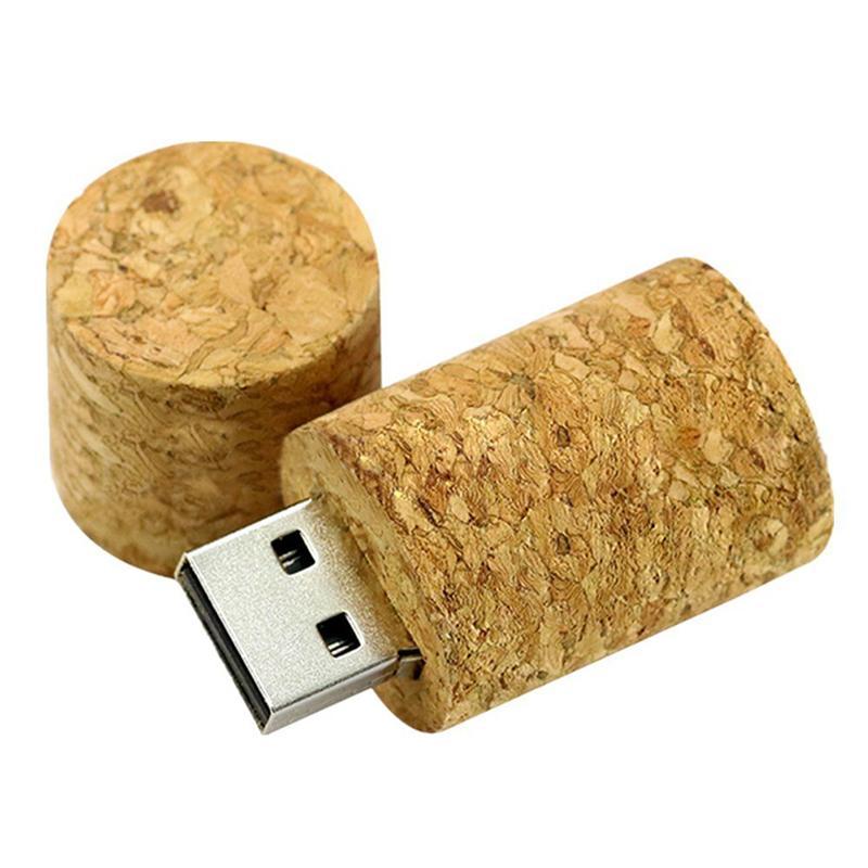 USB Memory Stick Cork Iconic Corker Flash Memory Stick (Light brown 16GB)