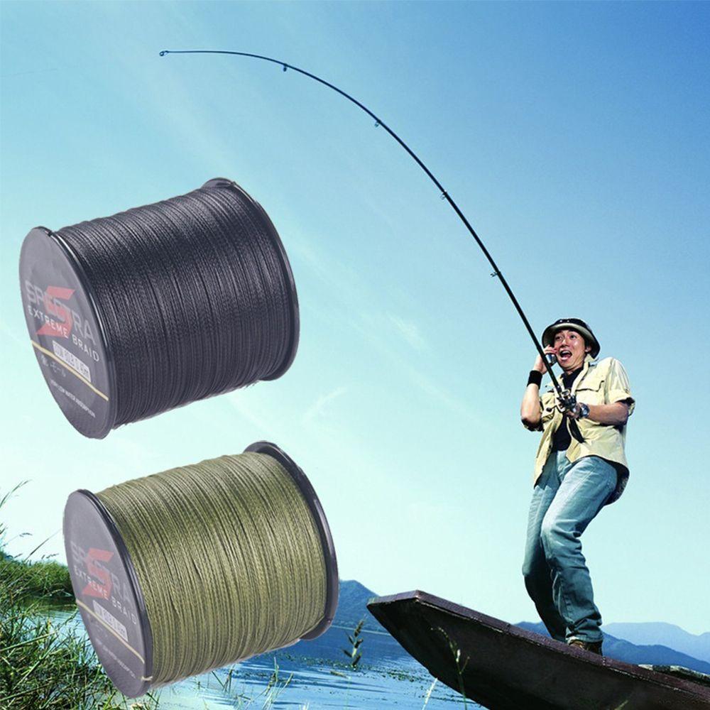 0.4mm 2.0mm 100m PE 4 Braided Zero Stretch Fishing Line Abrasion Resistant