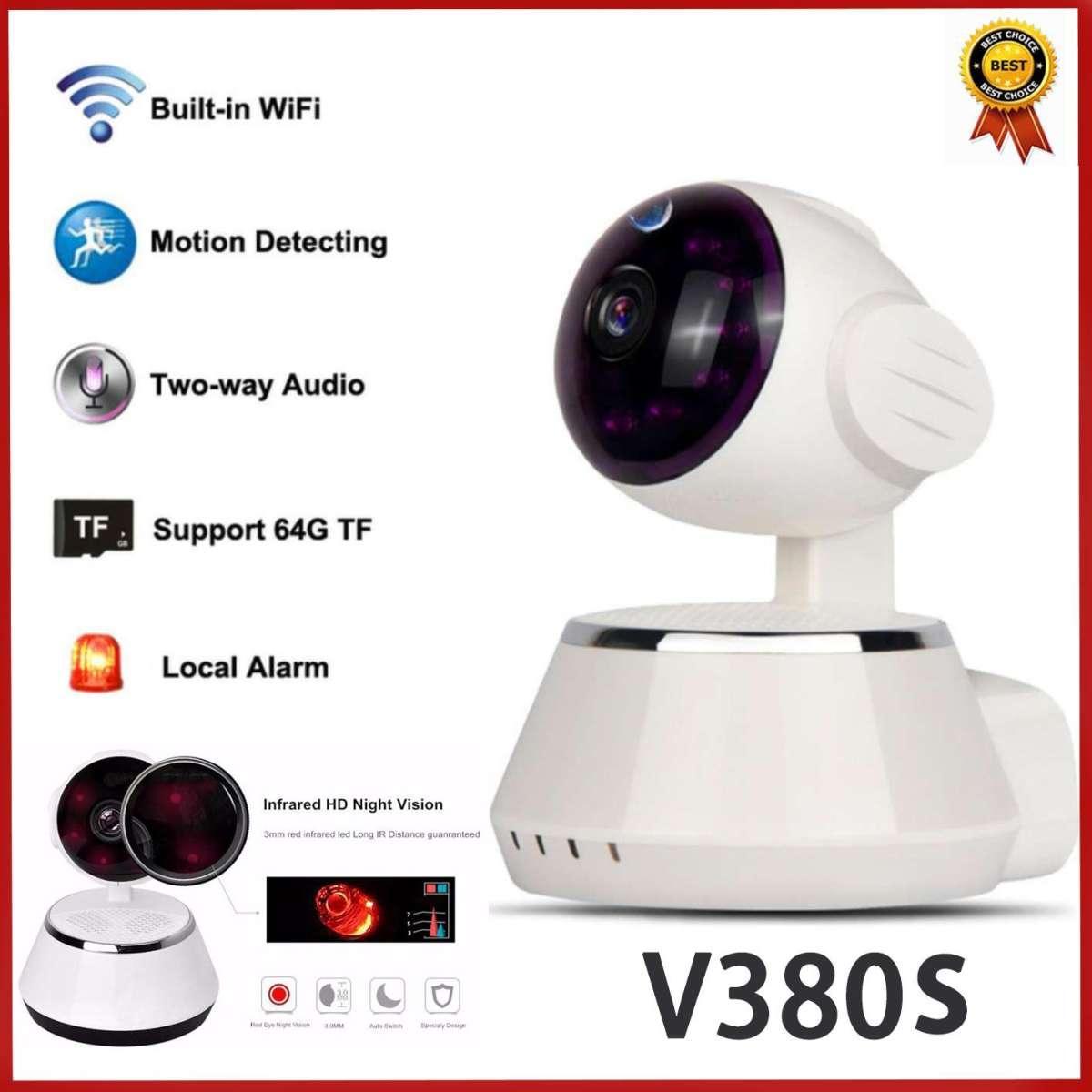 V380s CCTV 1080P CCTV HD WiFi Wireless IP Camera Two Way Audio