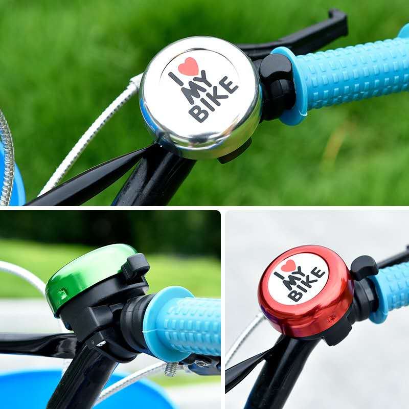 handlebar ringer warning alarm bicycle safety 6 modes BIKE HORN BELL electric