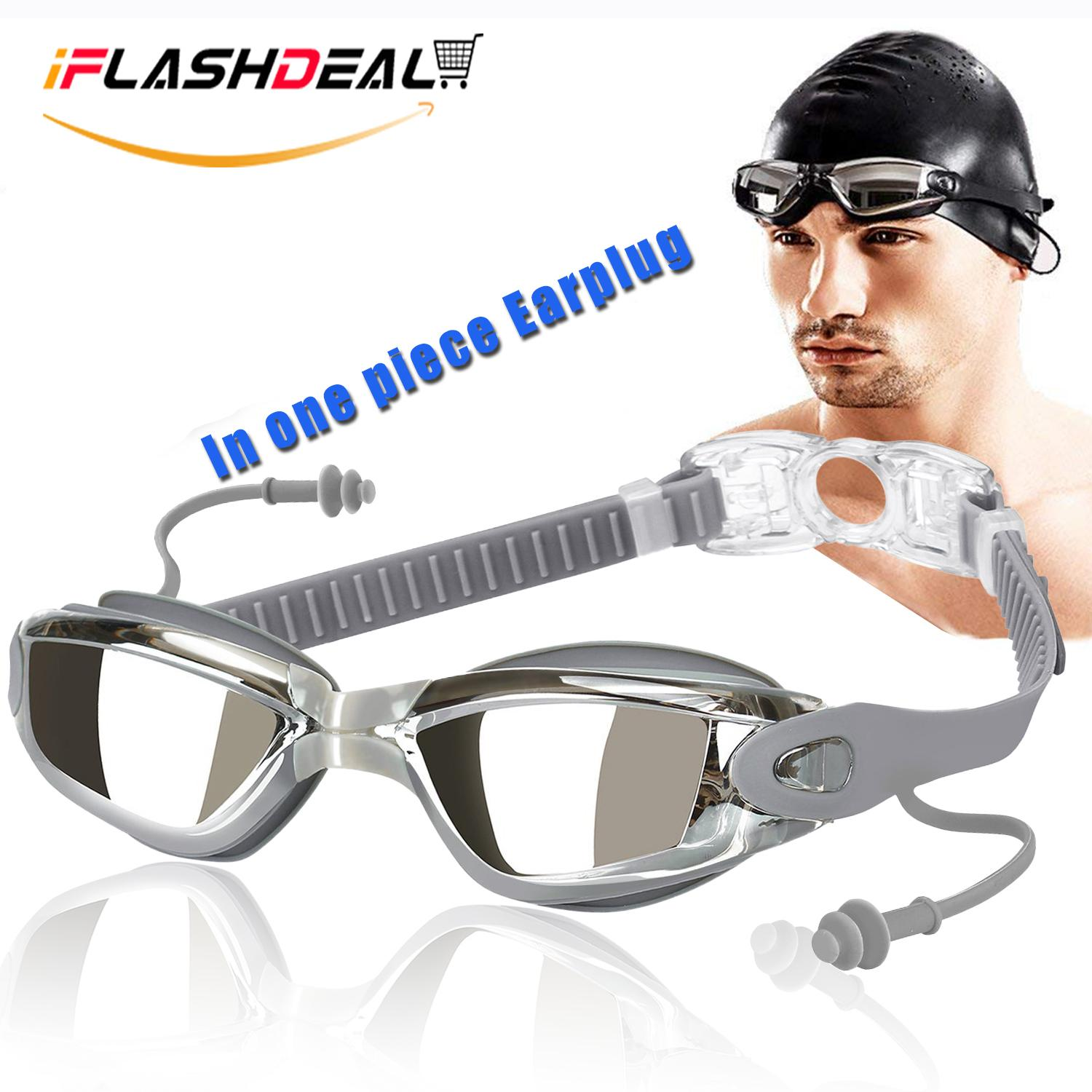 175d805b08 iFlashDeal Swimming Goggles Swim Goggles for Adult Men Women Youth Kids  Child Mirrored   Clear Anti