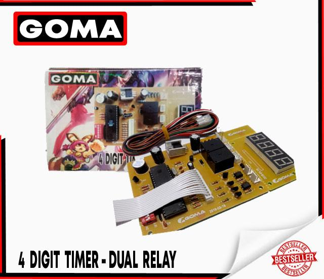 GOMA 4 Digit Timer for 1 peso and 5 peso for Pisonet