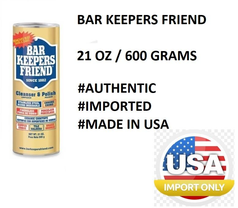 BAR KEEPERS FRIEND CLEANER CLEANSER OXIDISER