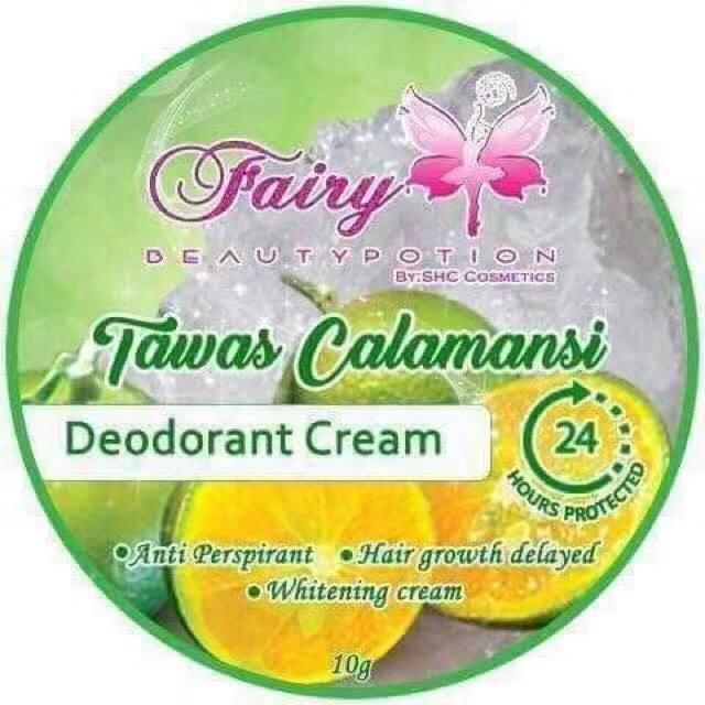 CiCi Mart Fairy Beauty Potion Tawas Calamansi Deodorant Cream 10g
