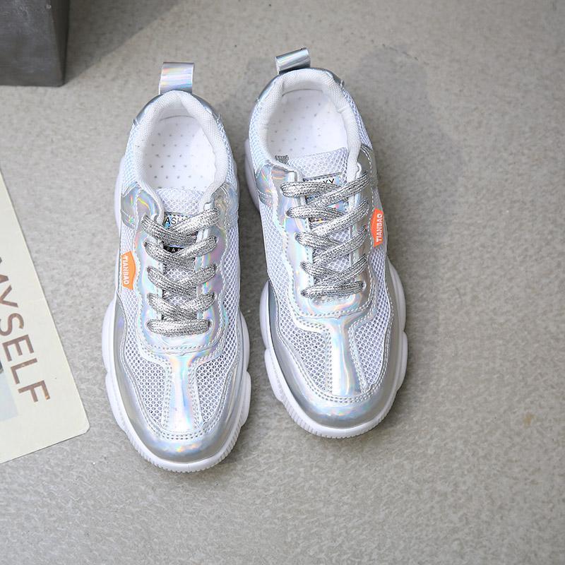 Bear รองเท้าออกกำลังกายหญิง 2019 คอลเลคชั่นฤดูใบไม่ผลิใหม่ระบายอากาศนักเรียนรองเท้าวิ่งเข้าได้หลายชุดลำลอง Ins เสื้อผ้าแฟชั่น เสื้อผ้าแฟชั่น รองเท้าผ้าใบทรงสูง By Taobao Collection.