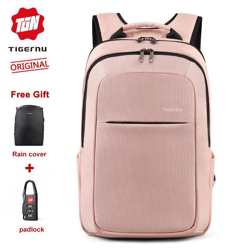 Tigernu Hot Selling& New Arrival Anti-Theft Splash Proof Fashion Travel Backpack Fit For 10.1-15.6 Laptop Causal Daily Business School Bag Unisex Men Backpack Suiting Material Laptop Update T-B3090b By Tigernu Brand Official Store.