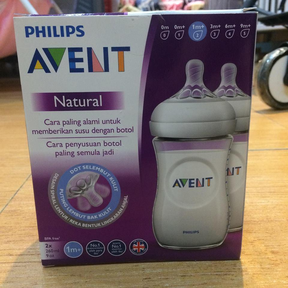 Philips Avent Natural 260ml 9oz 2pack Feeding Bottles White By Cost4less.