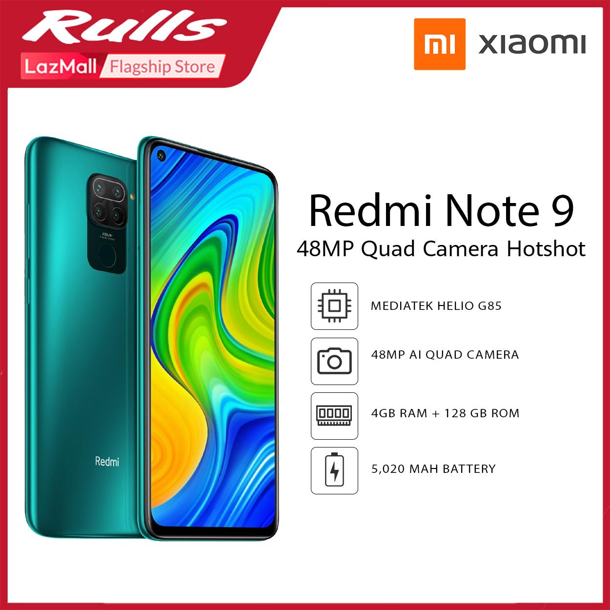 Xiaomi Redmi Note 9 4gb Ram 128gb Rom Cellphone Lazada Ph