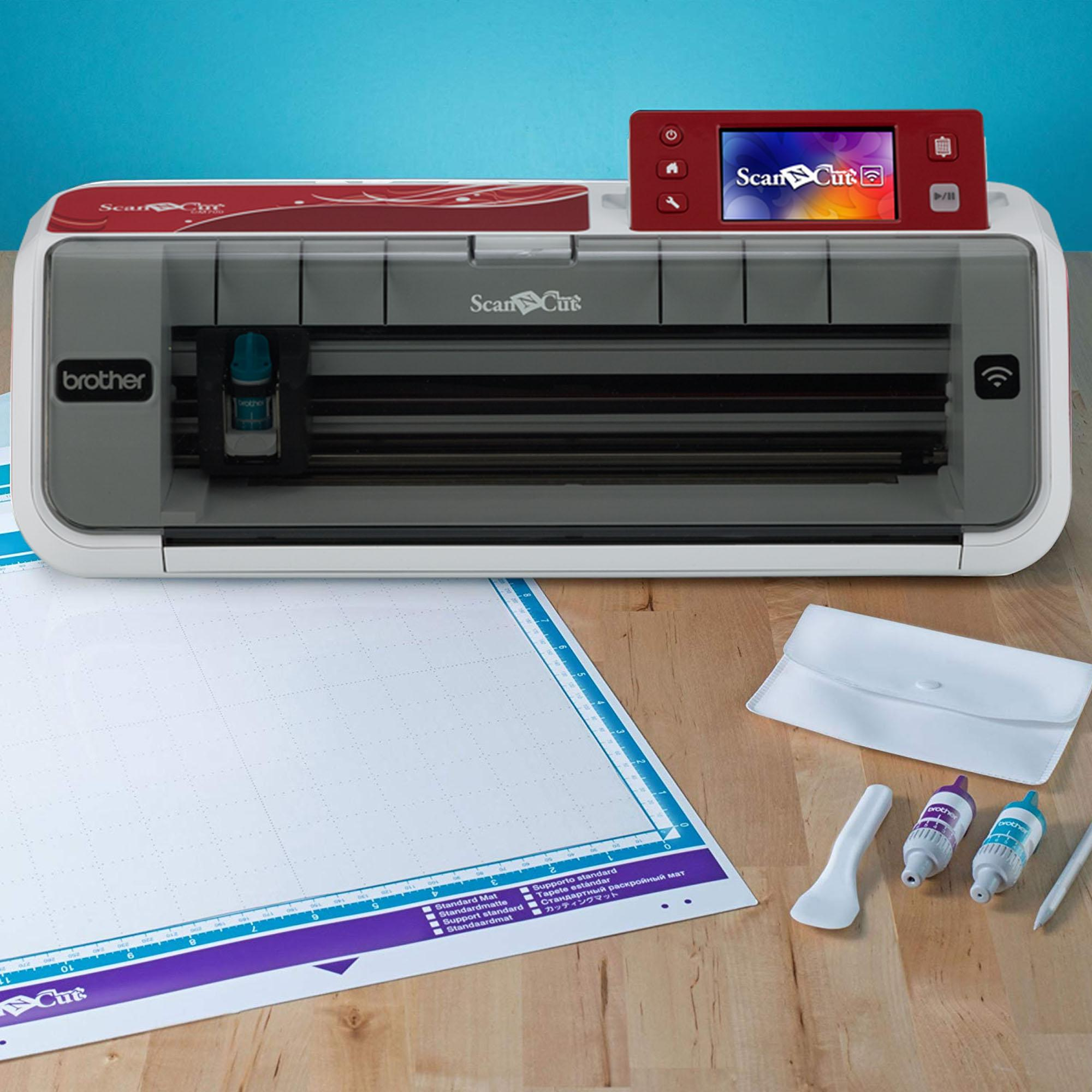 Brother CM-700 ScanNCut Wireless Network Ready Cutting Machine with  built-in Scanner