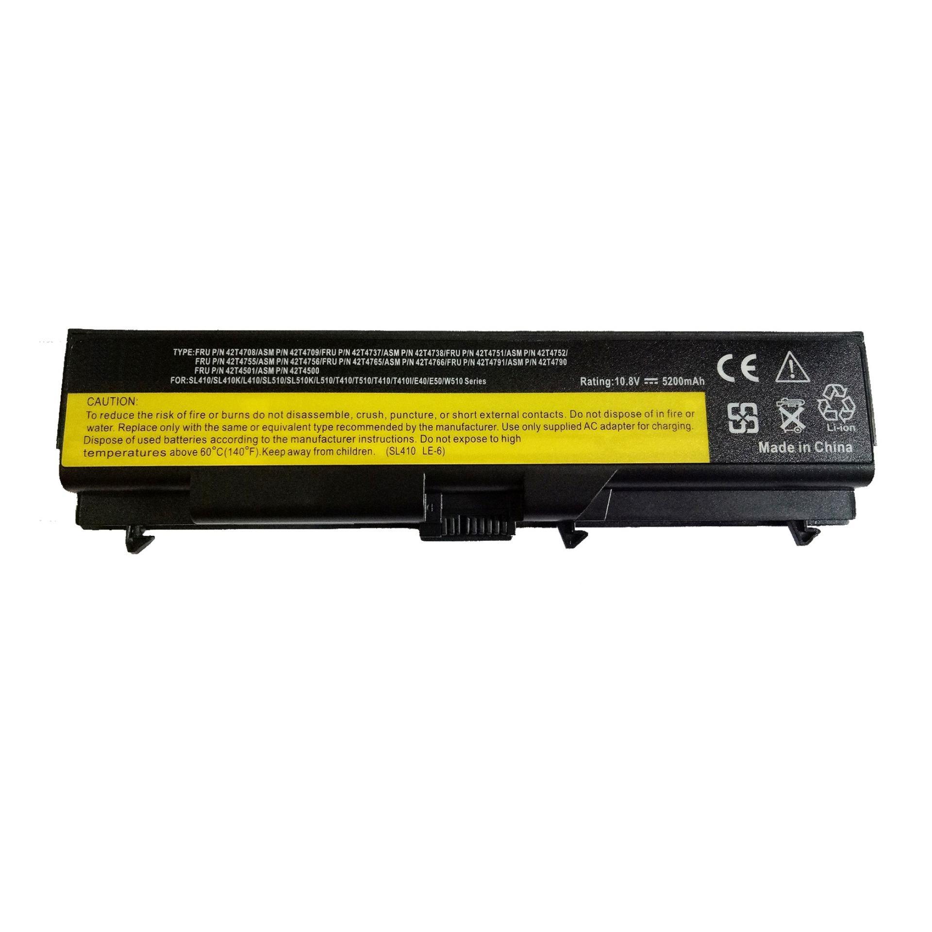 Lenovo Ibm Thinkpad Sl410 sl420 Sl410k Sl510 T410 T410i T420 T510 E420 E40  E50 Battery