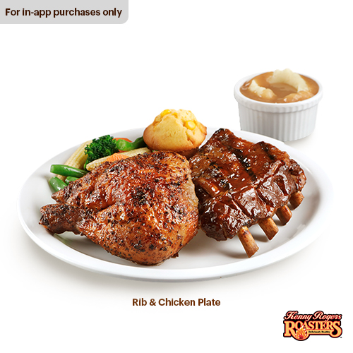 Kenny Rogers Roasters Rib And Chicken Plate Lazada Ph