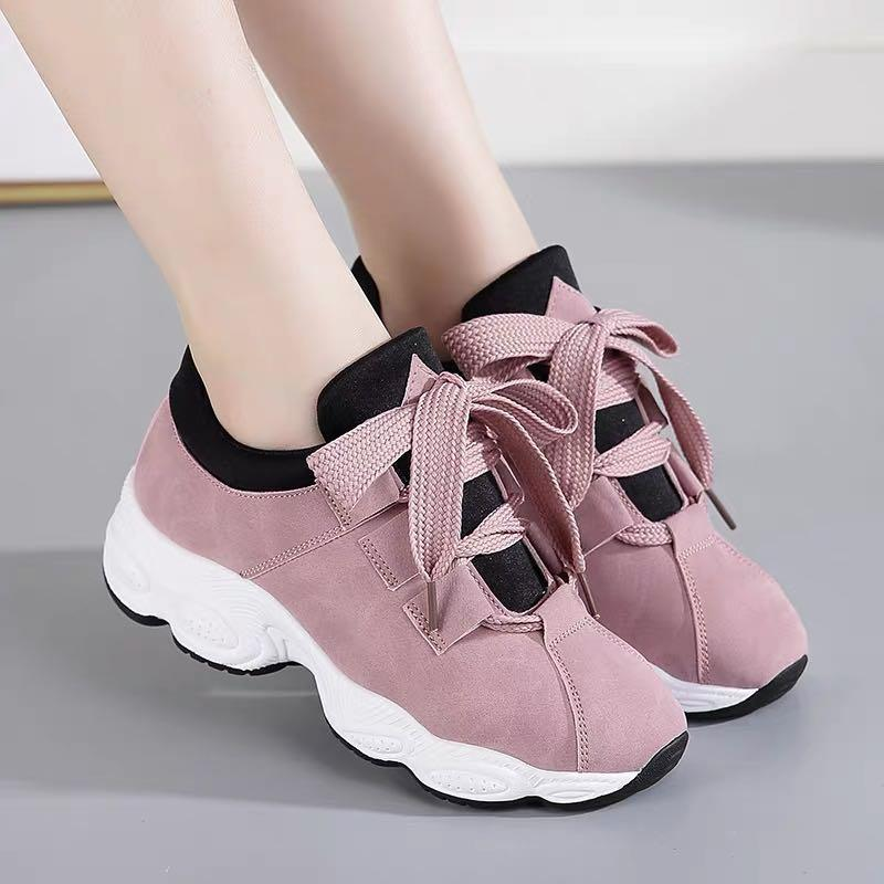 best loved 9c5e3 bdaa1 QQS 2019 Korean version of the new breathable wild running casual shoes