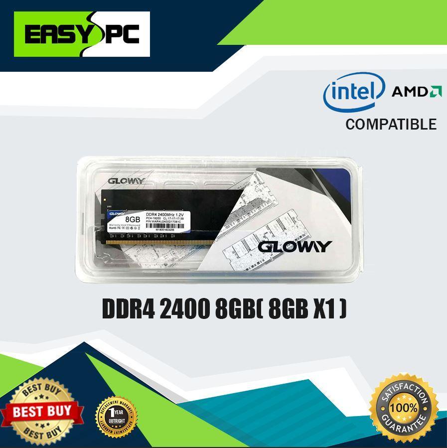Gloway 8GB DDR4 2400mhz Memory for Desktop, Glo way 8 GB RAM