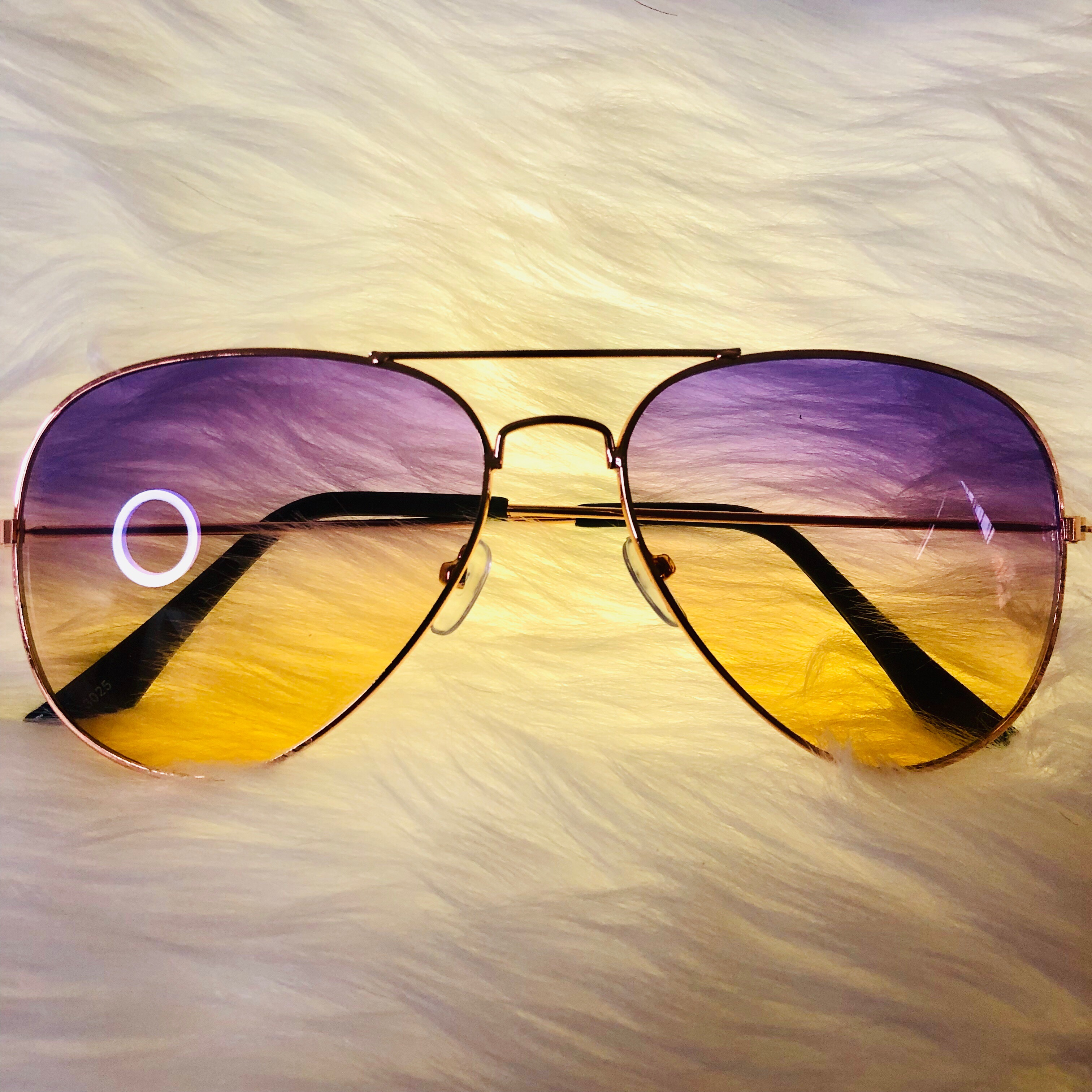 Malibu Sunnies Fashion Sunglasses Summer Shades Yellow And Violet Rainbow Color Shades Men Women W Uv Ray Protection W Free Pouch Lazada Ph
