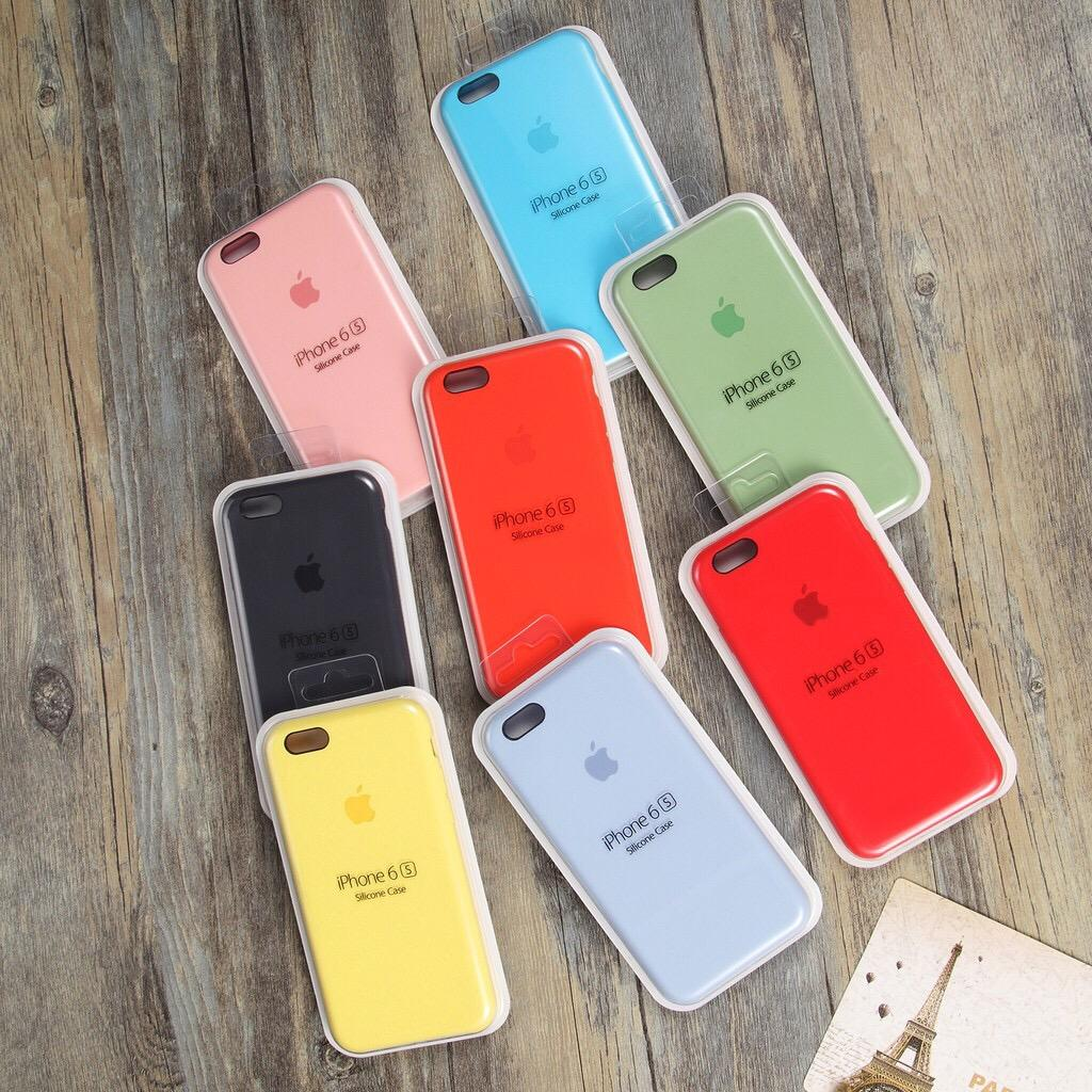 IPhone CASE Real Liquid Silicon High Quality 5 6 6s 7 8plus Case
