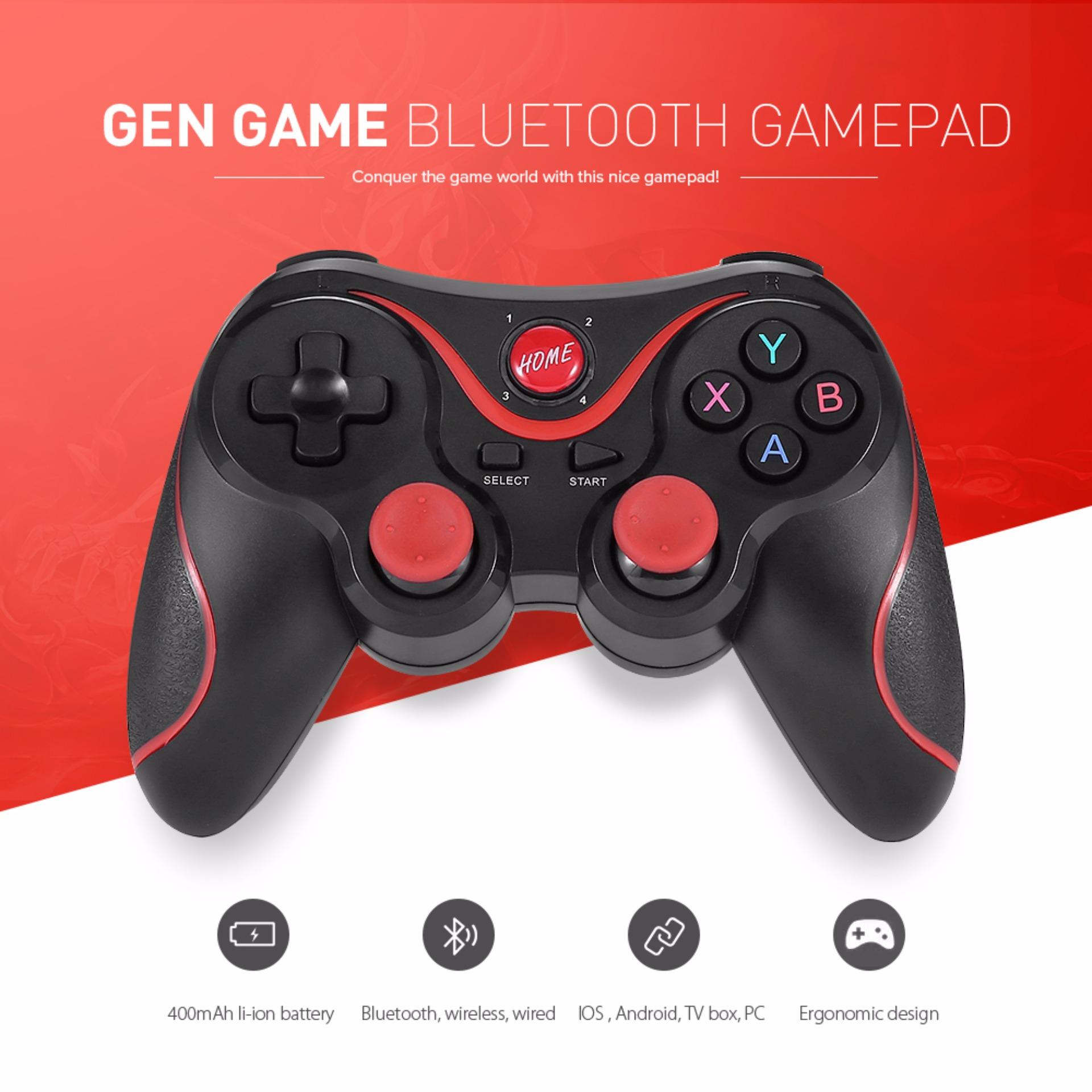 GEN GAME X3 Wireless Bluetooth Gamepad Game Controller for iOS Android Smartphones Tablet Windows PC Mobile