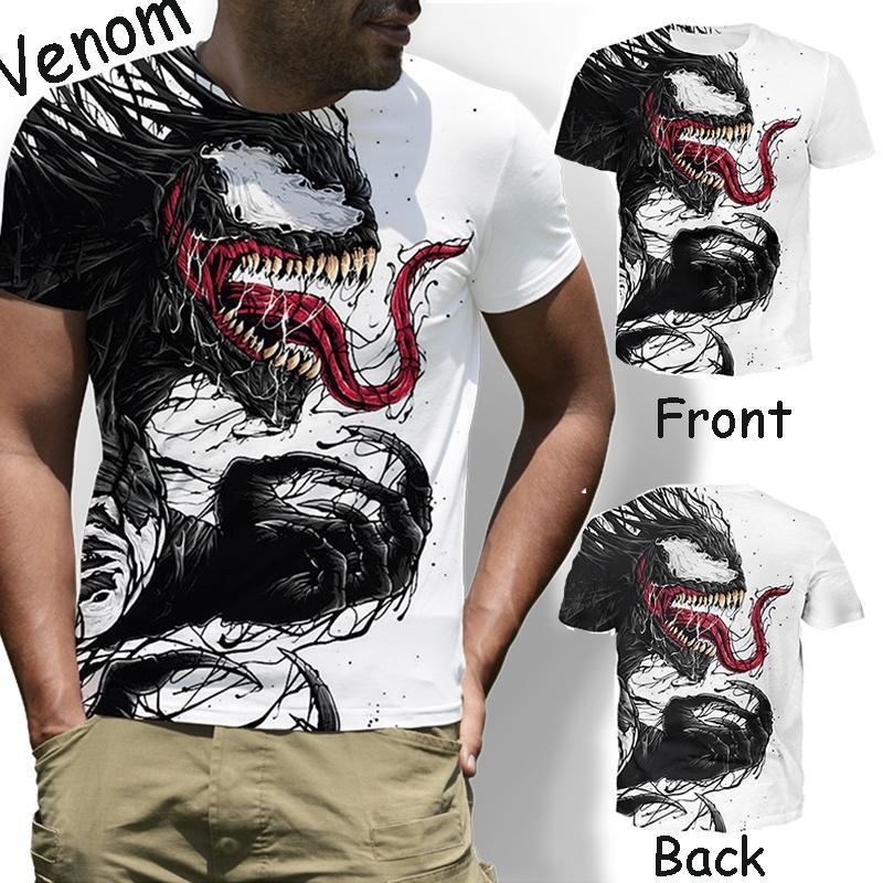 3D T-shirt Venom Printing Cartoon Digital Funny Tee Shirt Hip Hip Mens  Fashion Top 81edb49a2
