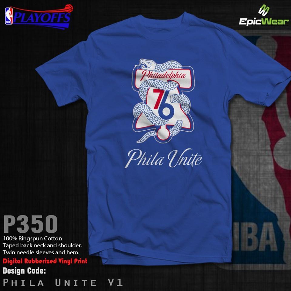 best service 696f9 62a71 NBA PO19 Phila Unite V1
