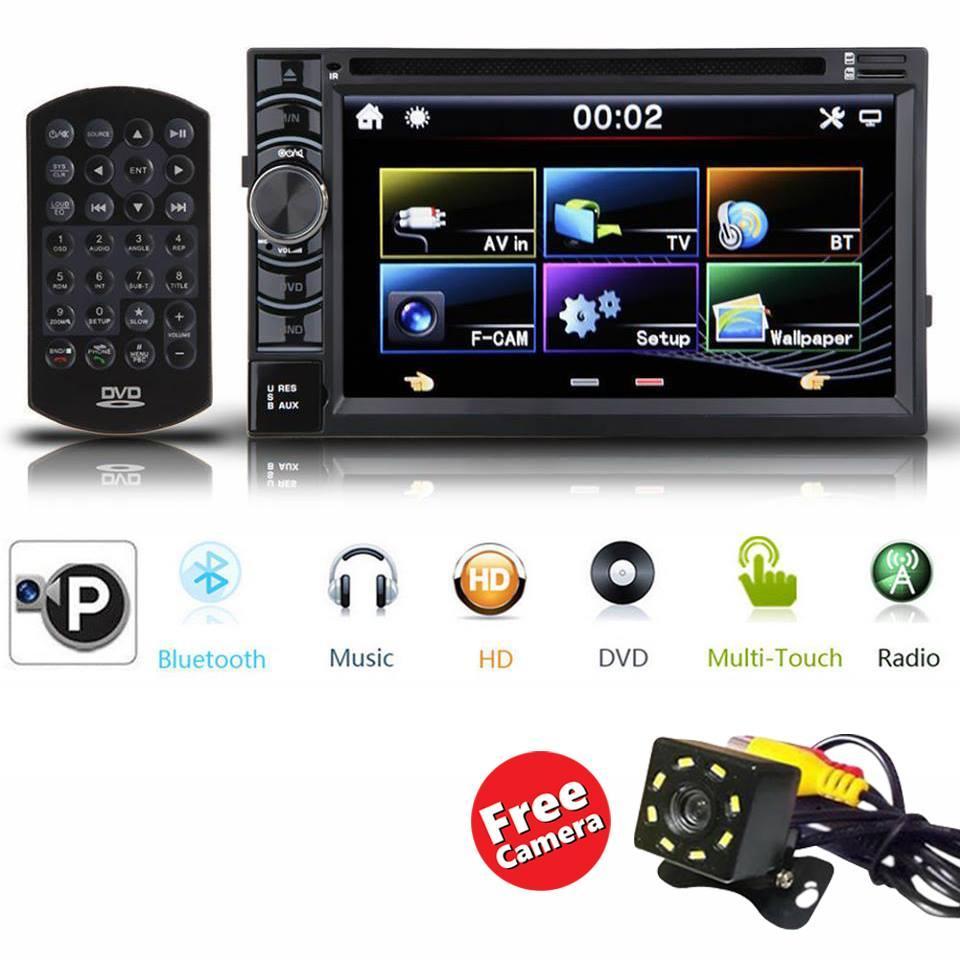 Sale Hd 2din Car Stereo Cd Dvd Player Radio Bluetooth Fm Am Tv Usb