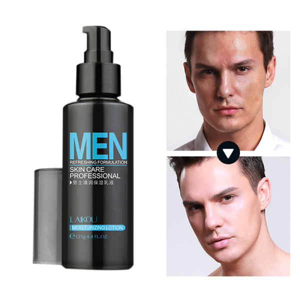 LAIKOU Natural Men Skin Care lotion Face Lotion Moisturzing lotion Oil Balance Brighten Pores Minimizing 125g Men Facial Cream giá rẻ