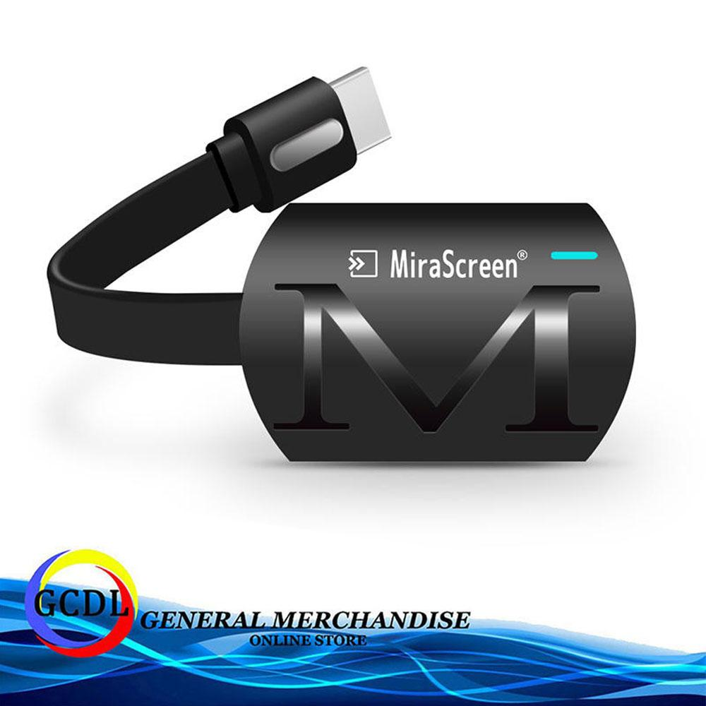 MiraScreen G4 Wireless HDMI Receiver,Smartphone/Tablet/Laptop to HDMI  Adapter, WiFi Display Dongle Receiver 1080P HD TV Stick Miracast Airplay  DLNA