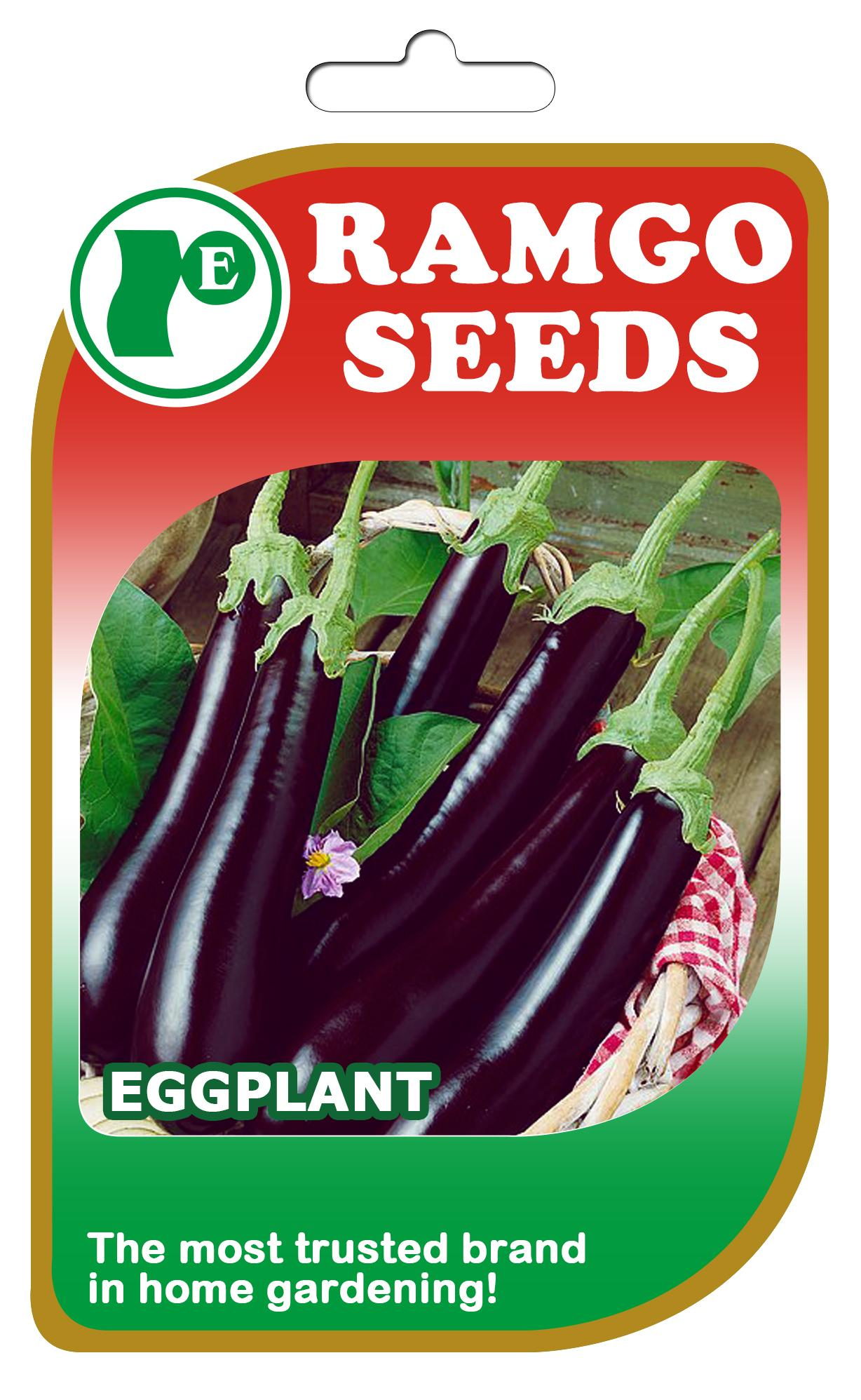 Eggplant Long Purple Seeds By Ramgos Garden And Farm Store.