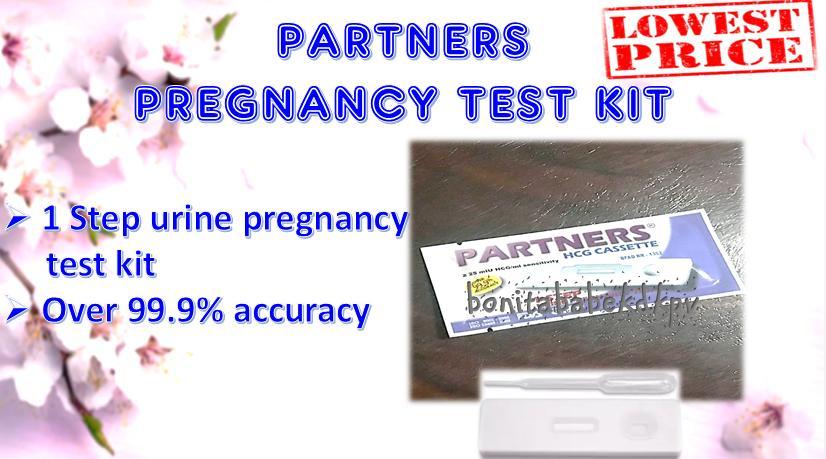 PARTNERS PREGNANCY TEST KIT 1PC