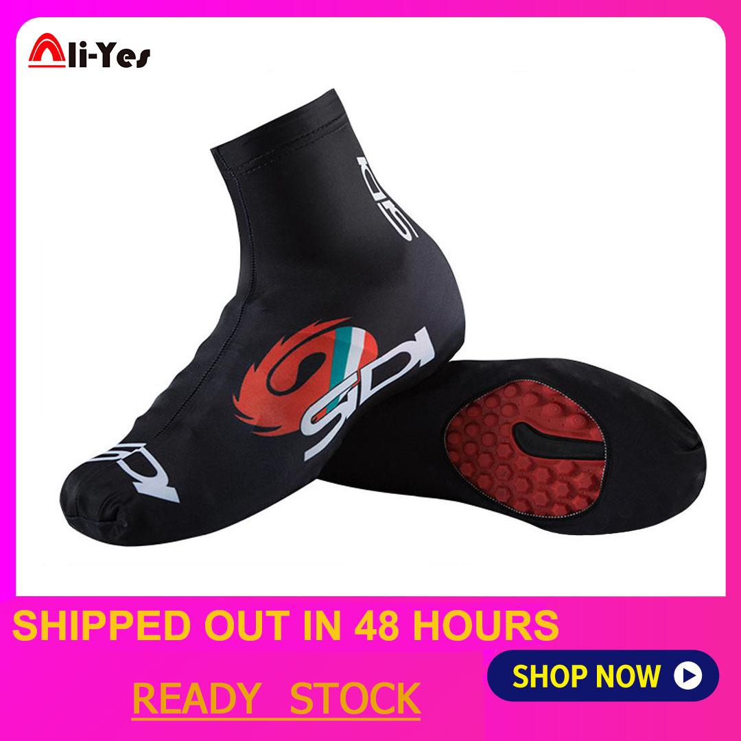 Men Women Outdoor Sports Riding Cycling Boot Covers MTB Mountain Bike Waterproof Windproof Shoe Cover Overshoes Protector 3XL Black Bicycle Shoe Covers Waterproof Cycling Shoe Covers