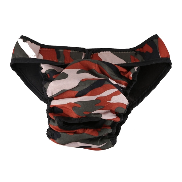 Dog panties Dog pants dog diaper hygiene pants, Size L Camouflage