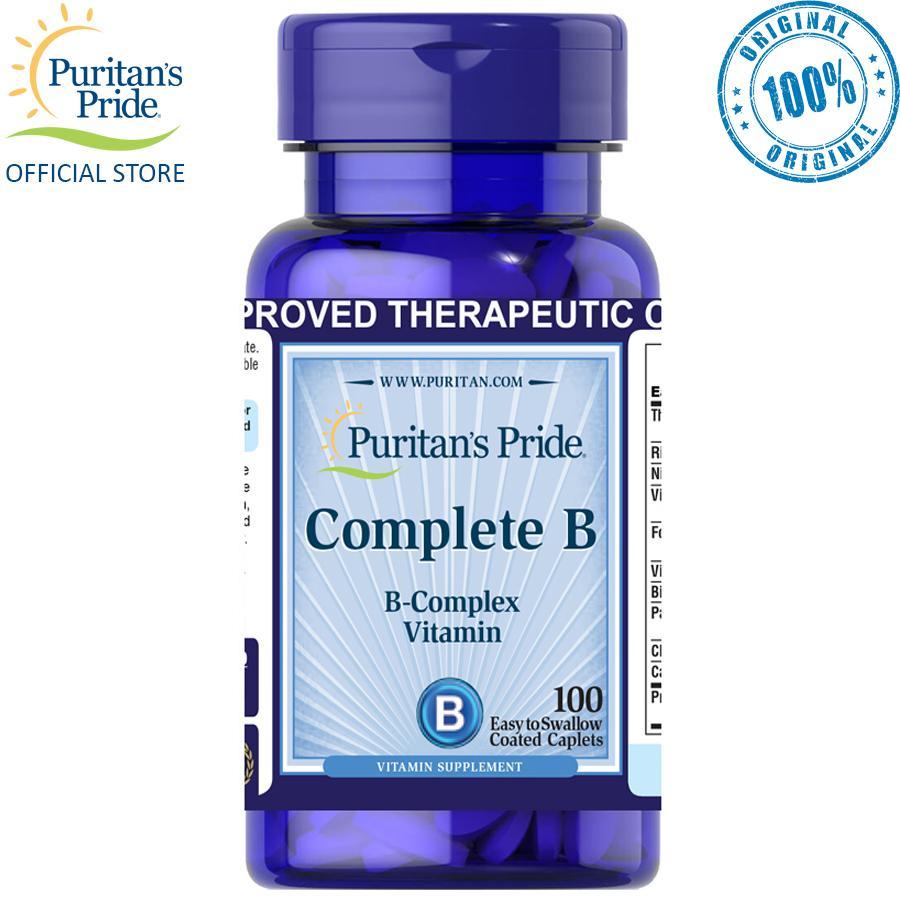 Puritan's Pride Complete B Vitamin B Complex 100 caplets