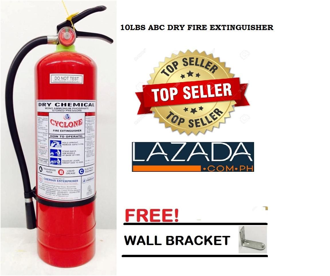 Cyclone Fire Extinguisher 10lbs Abc Dry Chemical By Chensan Enterprises.