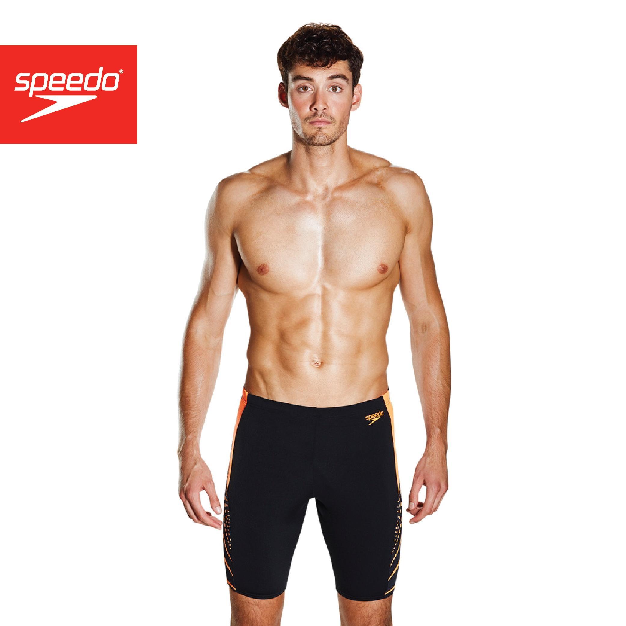 Speedo Mens Graphic Splice Aquashort Swimming Swim Shorts