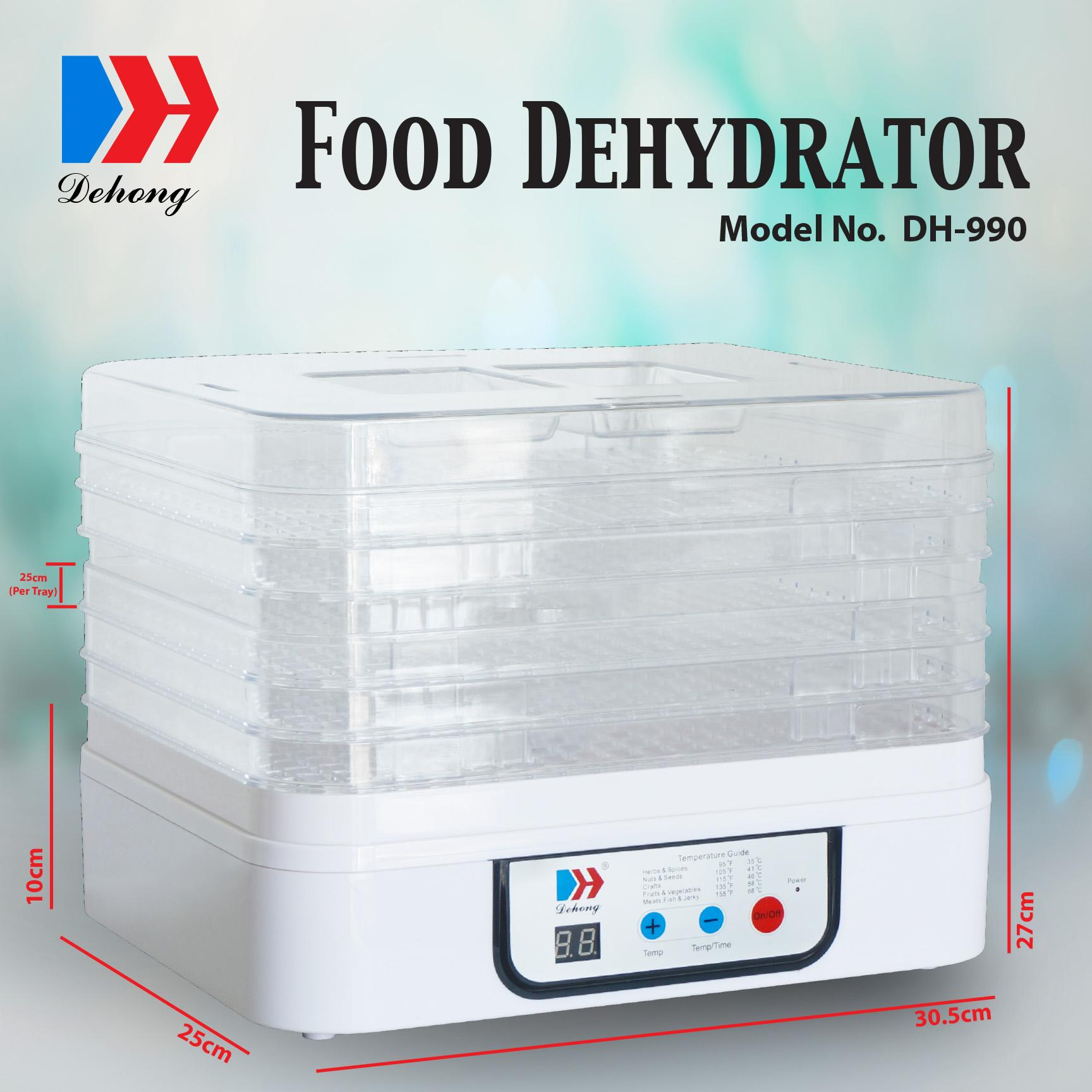 Dehong Food Dehydrator Dh-990 By Os2 Optimal Software Services.