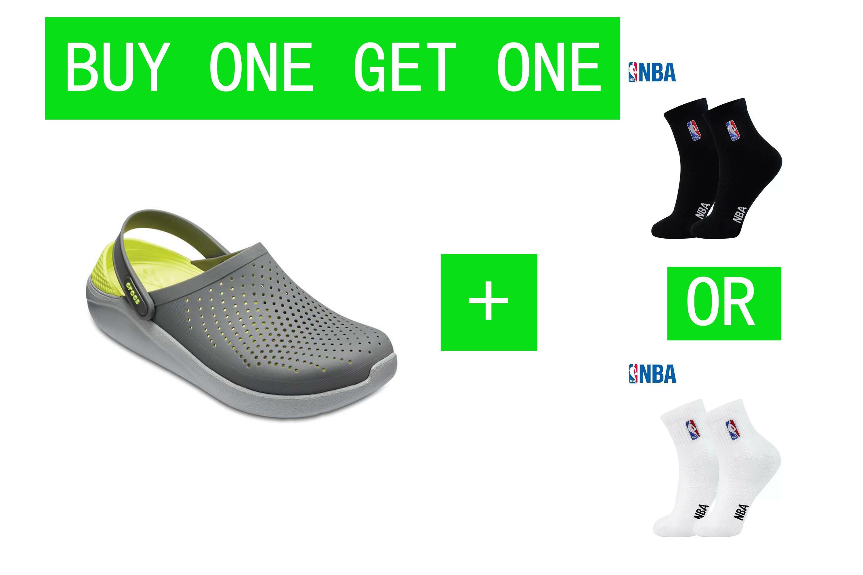 Unisex Literide Clog With Socks Crocs Men Free Bag For Eco DEIW29H