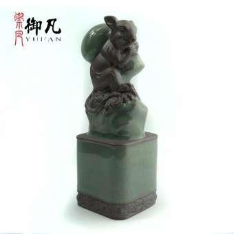 Yufan สิบสองราศีเครื่องประดับทั้งชุดหนูวัวเสือกระต่ายและลิงงูม้าแกะ Jigou หมูเครื่องประดับ 12 นักษัตร